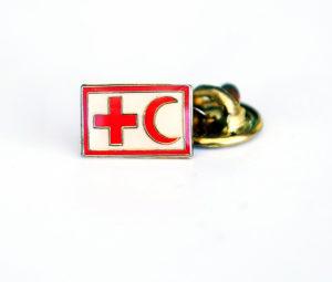 Rotes Kreuz Anzug Pins